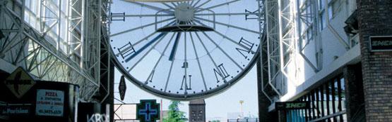 Ville de cergy axe majeur horloge - Piscine cergy axe majeur ...