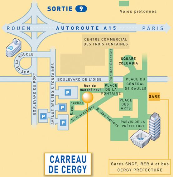 Ville de cergy informations pratiques for Piscine cergy prefecture