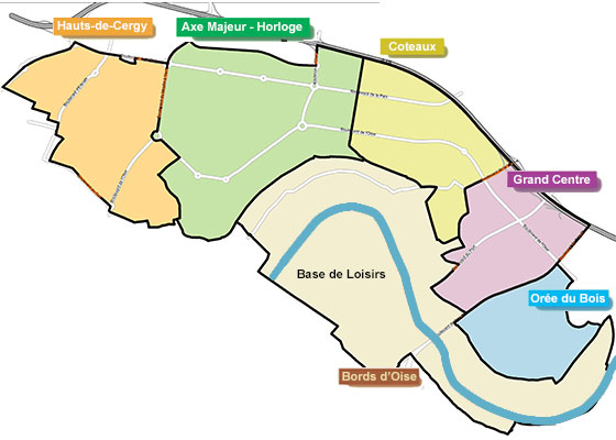 Mairie de cergy - Piscine du parvis cergy ...